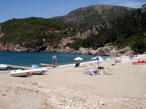 Liapades-beach